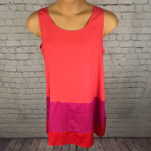 My Story Dresses & Skirts - My Story Color Block Sleeveless Dress Medium Size